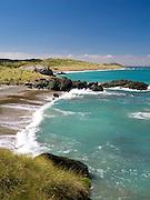 Looking ESE towards Howell's Point/Taramea across Colac Bay/Oraka, near Riverton/Aparima, Southland, New Zealand