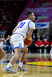 NORMAL, IL - February 22: Jonah Jackson during a college basketball game between the ISU Redbirds and the Drake Bulldogs on February 22 2020 at Redbird Arena in Normal, IL. (Photo by Alan Look)