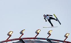 01.03.2017, Lahti, FIN, FIS Weltmeisterschaften Ski Nordisch, Lahti 2017, Nordische Kombination, Skisprung, Grossschanze HS130 m, im Bild Laurent Muhlethaler (FRA) // Laurent Muhlethaler of France during Skijumping competition of Nordic Combined of FIS Nordic Ski World Championships 2017. Lahti, Finland on 2017/03/01. EXPA Pictures © 2017, PhotoCredit: EXPA/ JFK