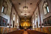 Chapel, Mission Santa Barbara, Santa Barbara, California, USA