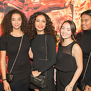 NLD/Amsterdam/20151116 - Filmpremiere The Hunger Games: Mokingjay-part 2, Julia Tan en vriendinnen
