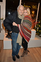 DAVID MONTGOMERY and MARISSA MONTGOMERY at a party hosted by Melissa Del Bono to celebrate the launch of her Meli Melo flagship store at 324 Portobello Road, London W10 on 28th November 2013.