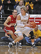 WICHITA, KS - NOVEMBER 12:  Guard Ron Baker #31 of the Wichita State Shockers works against pressure from guard Kevin Kaspar #1 of the Western Kentucky Hilltoppers during the second half on November 12, 2013 at Charles Koch Arena in Wichita, Kansas.  (Photo by Peter Aiken/Getty Images) *** Local Caption *** Ron Baker;Kevin Kaspar