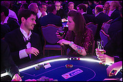 BENJAMIN KHODAN; REBECCA DIXON, Quintessentially Foundation Poker Night,  annual poker night,  to raise money for Right to play, Greenhouse and Place2Be. Savoy. 13 November 2014.