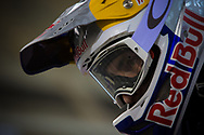 #33 (DAUDET Joris) FRA at the 2014 UCI BMX Supercross World Cup in Manchester.