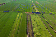 Nederland, Utrecht, Gemeente Eemnes, 03-10-2010; Zomerdijk tussen Noordpolder en Maatpolder (polders tussen Eemnes en Spakenburg), een van de laatste open polderlandschappen in de Randstad..Summer dike between Noordpolder and Maatpolder (polders between Eemnes and Spakenburg), one of the last open polder landscapes in the Randstad..luchtfoto (toeslag), aerial photo (additional fee required).foto/photo Siebe Swart