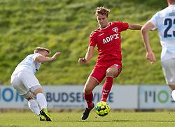 Erik Nissen (FC Fredericia) under kampen i 1. Division mellem FC Fredericia og FC Helsingør den 4. oktober 2020 på Monjasa Park i Fredericia (Foto: Claus Birch).
