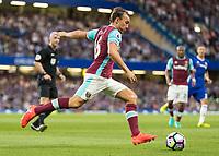 Football - 2016/2017 Premier League - Chelsea V West Ham United. <br /> <br /> Mark Noble of West Ham at Stamford Bridge.<br /> <br /> COLORSPORT/DANIEL BEARHAM