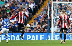 John Fleck of Sheffield United scores his sides first goal  - Mandatory by-line:  Matt McNulty/JMP - 24/09/2017 - FOOTBALL - Hillsborough - Sheffield, England - Sheffield Wednesday v Sheffield United - Sky Bet Championship