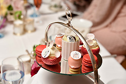 Atmosphere at an afternoon tea in honour of Megan Hess hosted by Lady Violet Manners at The Lanesborough, Hyde Park Corner, London, England. 10 November 2017.