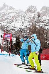 20.01.2011, Tofana, Cortina d Ampezzo, ITA, FIS World Cup Ski Alpin, Lady, Cortina, Abfahrt 2. Training, im Bild Marusa Ferk (SLO, #29) // Marusa Ferk (SLO) during FIS Ski Worldcup ladies downhill second training at pista Tofana in Cortina d Ampezzo, Italy on 20/1/2011. EXPA Pictures © 2011, PhotoCredit: EXPA/ J. Groder