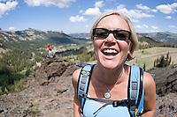 Hiking at Kirkwood Resort. Lake Tahoe, CA