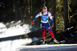 Ivona Fialkova (SVK) during the Women 15 km Individual Competition at day 2 of IBU Biathlon World Cup 2019/20 Pokljuka, on January 23, 2020 in Rudno polje, Pokljuka, Pokljuka, Slovenia. Photo by Peter Podobnik / Sportida