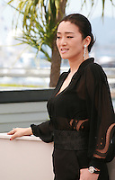 Actress Gong Li at the photo call for the film Coming Home at the 67th Cannes Film Festival, Tuesday 20th May 2014, Cannes, France.
