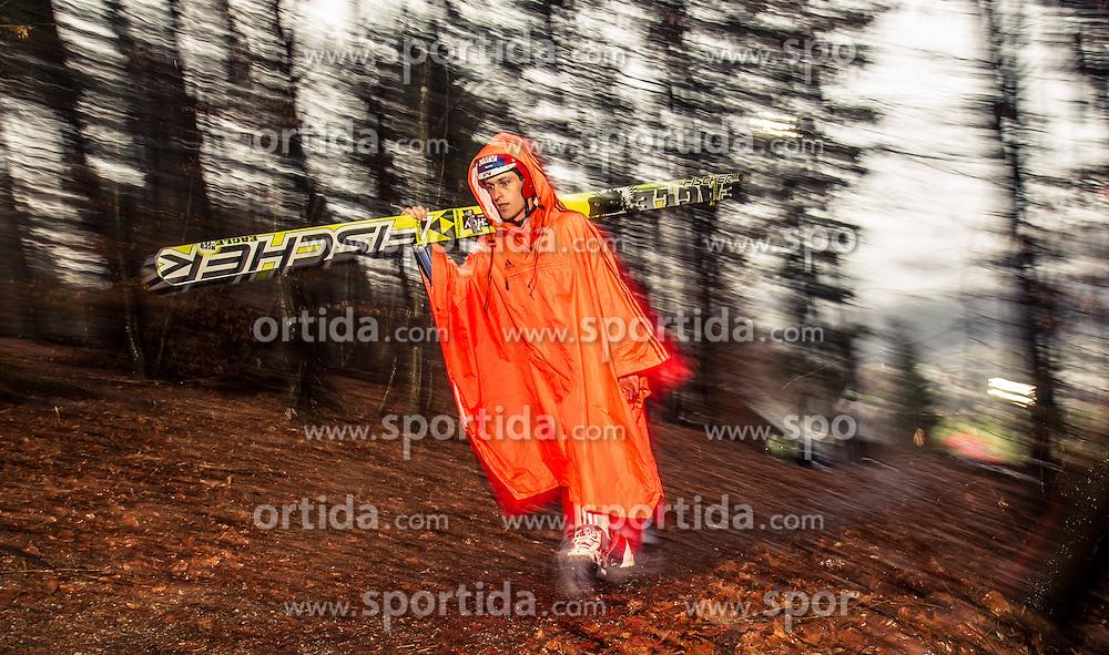 05.01.2014, Paul Ausserleitner Schanze, Bischofshofen, AUT, FIS Ski Sprung Weltcup, 62. Vierschanzentournee, Qualifikation, im Bild Jan Matura (CZE) // Jan Matura (CZE) during qualification Jump of 62nd Four Hills Tournament of FIS Ski Jumping World Cup at the Paul Ausserleitner Schanze, Bischofshofen, Austria on 2014/01/05. EXPA Pictures © 2014, PhotoCredit: EXPA/ JFK