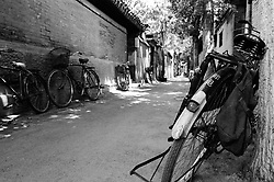 Typical hutong atreet in Beijing China