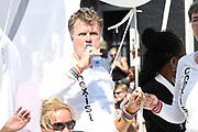 Euro Gay Pride - Canal Parade 2016 - in de grachten van Amsterdam<br /> <br /> Euro Gay Pride - Canal Parade 2016 - in the canals of Amsterdam<br /> <br /> Op de foto / On the photo:  Boris Dittrich