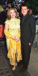 MISS SHEBAH RONAY daughter of fashion designer Edina Ronay and MR JOHNNY YEO, at a film premier on 26th August 1998.MJL 20<br /> <br /> NON EXCLUSIVE - WORLD RIGHTS
