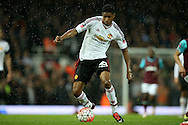 Marcus Rashford of Manchester United in action. The Emirates FA cup, 6th round replay match, West Ham Utd v Manchester Utd at the Boleyn Ground, Upton Park  in London on Wednesday 13th April 2016.<br /> pic by John Patrick Fletcher, Andrew Orchard sports photography.