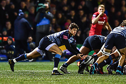 Cardiff Blues' Lloyd Williams in action - Mandatory by-line: Craig Thomas/Replay images - 31/12/2017 - RUGBY - Cardiff Arms Park - Cardiff , Wales - Blues v Scarlets - Guinness Pro 14