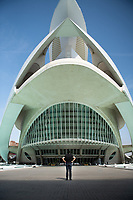 The City of Arts and Sciences in Valencia features interesting structures by Calatrava, an opera centre and reflecting pools.