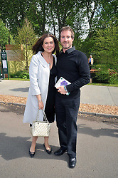 TV presenter AMANDA LAMB and SEAN McGUINNESS at the RHS Chelsea Flower Show 2009 held inthe gardens of the Royal Hospital Chelsea on 18th May 2009.
