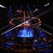 HOLLYWOOD, FL - JUNE 26: The octagon is seen during the Bare Knuckle Fighting Championships at the Seminole Hard Rock & Casino on June 26, 2021 in Hollywood, Florida. (Photo by Alex Menendez/Getty Images) *** Local Caption ***