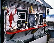 Lobster shack, Mt Desert Island, Maine