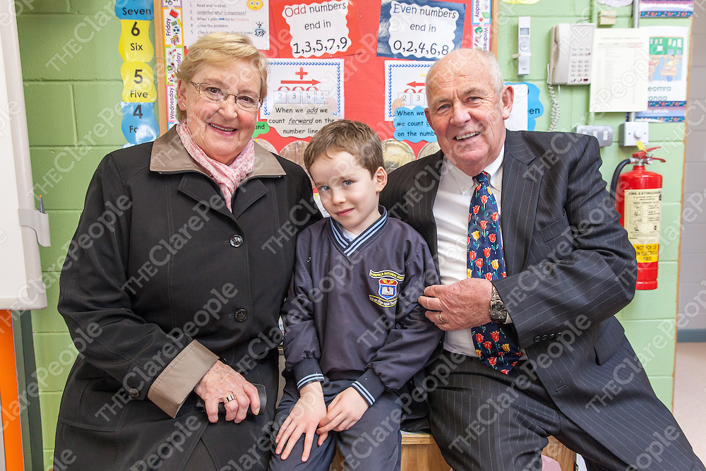 Sean and Loiuse Corcoran with their grandson Peter Corcoran