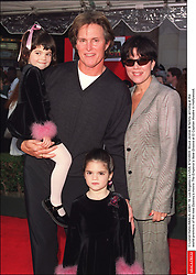 © Lionel Hahn/ABACA. 22401-14. Los Angeles-Ca-USA, 8/12/2000. Bruce Jenner & family arriving at the world premiere of the new Dysney's movie The Emperor's New Groove at El Capitan theatre in Hollywood.  | 22401_14