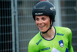 Eugenia Bujak of Slovenia after Women Time Trial at UCI Road World Championship 2020, on September 24, 2020 in Imola, Italy. Photo by Vid Ponikvar / Sportida