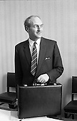 1972 - George Colley, Finance Minister, on Budget Day
