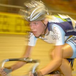 ALKMAAR (NED) wielrennen<br />NK Baanwielrennen ; vrouwen; ; scratch; Iris Slappendel