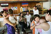 Centre d'accueil de demandeurs d'asile à Culoz, Ain.  Welcoming center for asylum seekers, in Culoz, Ain