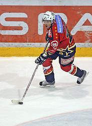 Conny Stromberg of Jesenice at ice hockey match Acroni Jesencie vs ZM Olimpija in second round of final of Slovenian National Championship,  on April 5, 2008 in Arena Podmezaklja, Jesenice, Slovenia. Acroni Jesenice won the game 6:1 and lead the series 2:0.  (Photo by Vid Ponikvar / Sportal Images)