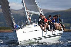 Peelport Clydeport, Largs Regatta Week 2014 Largs Sailing Club based at  Largs Yacht Haven <br /> <br /> IRL1666, Carmen II, Jeffrey/Scutt, CCC/HSC, First 36.7