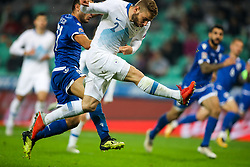 Nejc Skubic of Slovenia during football match between National Teams of Slovenia and Cyprus in Final Tournament of UEFA Nations League 2019, on October 16, 2018 in SRC Stozice, Ljubljana, Slovenia. Photo by  Morgan Kristan / Sportida