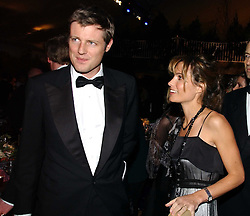 ZAC and SHEHERAZADE GOLDSMITH at the British Red Cross London Ball held at The Room by The River, 99 Upper Ground, London SE1 on 16th November 2006.<br /><br />NON EXCLUSIVE - WORLD RIGHTS
