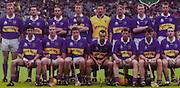 All Ireland Senior Hurling Championship Final,.09.09.2001, 9th September 2001,.Minor Cork 2-10, Galway 1-8,.Senior Tipperary 2-18, Galway 2-15,  .09092001AISHCF,.Boyle Bookmakers,.Tipperary, Back row from left, Declan Ryan, Paul Kelly, Mark O'Leary, Phillip Maher, Brendan Cummins, Eddie Enright, Lar Corbett, Brian O'Meara, Front row from left, Thomas Costello, Eamonn, Corcoran, John Carroll, Thomas Dunne captain, Paul Ormonde, David Kennedy, Eoin Kelly,