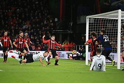 17 December 2017 -  Premier League - AFC Bournemouth v Liverpool - Dejan Lovren of Liverpool scores their 2nd goal - Photo: Marc Atkins/Offside
