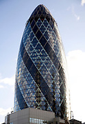 The Swiss Re Building, City of London, England