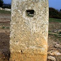 Europe, Mediterranean, Cyprus, Limassol, Kourion. A relic of the ancient Agora.