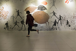 May 5, 2017 - Central Jakarta, Jakarta, Indonesia - Jakarta, Indonesia, 05 May 2017 : Gallery national Indonesia as the prestigue exhibition own by Indonesian Government under Education and Culture Department held three exhibition from Mural, Time Lovers, and Wimba Kala. (Credit Image: © Donal Husni via ZUMA Wire)