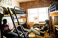 SDSU Dormitory housing brochure.(Photo by Sandy Huffaker/SDSU)