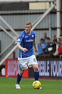 Brian Easton on attack during the Ladbrokes Scottish Premiership match between Heart of Midlothian and St Johnstone at Tynecastle Stadium, Gorgie, Scotland on 2 August 2015. Photo by Craig McAllister.