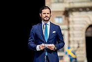 Prince Carl Philip opens Slottet, 06-06-2017
