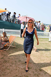 VISCOUNTESS COWDRAY at the Veuve Clicquot Gold Cup, Cowdray Park, Midhurst, West Sussex on 21st July 2013.
