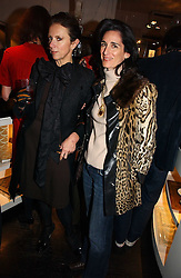 Left to right, VICTORIA FERNANDEZ and PRINCESS KARL VON AUERSPERG-BREUNNER at a party to celebrate the publication of Bebe Blue and the Evil Gangsta Rappers by Ashley Hicks, held at 28 Cadogan Place, London SW1 on 15th November 2006.<br /><br />NON EXCLUSIVE - WORLD RIGHTS