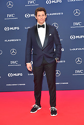 February 18, 2019 - Monaco, Monaco - James Marsden arriving at the 2019 Laureus World Sports Awards on February 18, 2019 in Monaco  (Credit Image: © Famous/Ace Pictures via ZUMA Press)