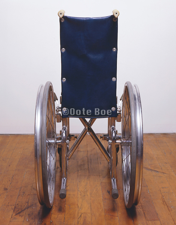 rear view of wheelchair